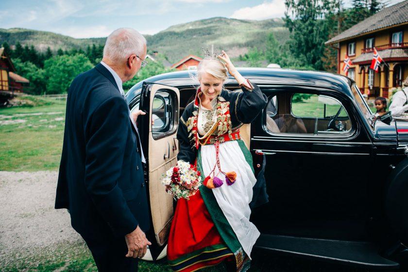 Ingebjørg og Chase gifter seg
